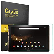KuGi ® Acer Iconia One 10 B3-A30 Screen protector-High Quality 9H Hardness HD clear Tempered Glass Screen Protector for Acer Iconia One 10 B3-A30 tablet(1pcs)