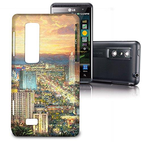 Phone Case For LG Optimus 3D P920 / Thrill 4G P925 - Viva Las Vegas Protective Back