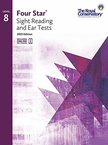 4S08 - Royal Conservatory Four Star Sight Reading and Ear Tests Level 8 Book 2015 -