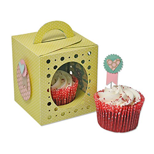 Sizzix Thinlits Plus Dies 19/Pkg-Cupcake Box
