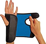RiptGear Wrist Brace for Women and Men - Adjustable Support with Removable Splint - Wrist Sprains, Carpal Tunnel Syndrome, Tendonitis - Reinforced Construction - Wrist Brace Right Hand (Right)