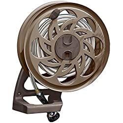 Suncast CPLSTA125B 125-Foot Sidetracker Garden Hose Reel With Guide