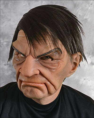 Zagone Prick Mask, Mean Old Man, Big Brow, Frown, Supersoft ()