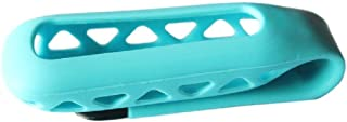 Top-Spring Silicone Replacement Clip Belt Holder Skin Case Cover for Fitbit One Tracker (Sky Blue)