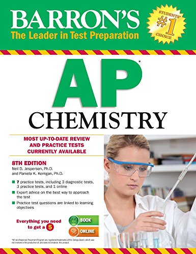 Pdf Teen Barron's AP Chemistry, 8th Edition