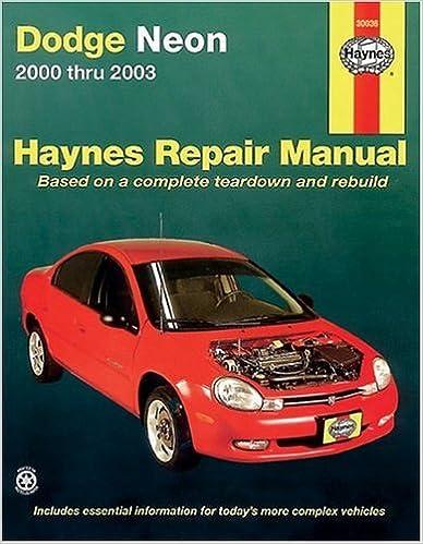 manual chrysler neon 2002