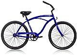 Micargi Touch, blue, Men's 1-speed Beach Cruiser Bike Schwinn Nirve Firmstrong Style For Sale