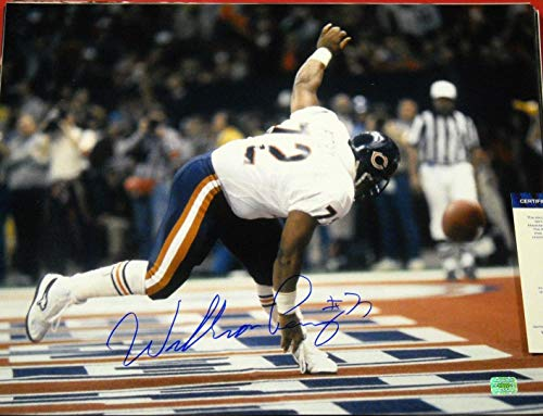 - WILLIAM PERRY AUTOGRAPHED CHICAGO BEARS 16X20 PHOTO AASH THE REFRIGERATOR