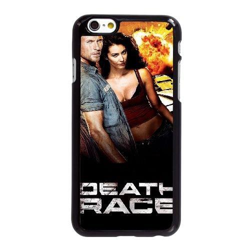 I4W06 Death Race Haute Résolution Affiche W4F8CK coque iPhone 6 4.7 pouces Cas de couverture de téléphone portable coque noire XC8UFY6OI