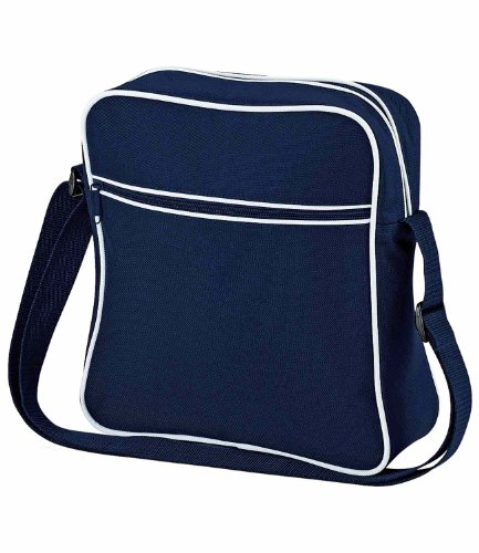 BagBase uomo taglia blu French White Borsa unica French White Navy a spalla Navy OUrOT