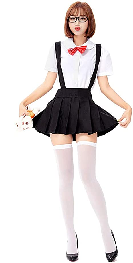 VNIUBI Disfraz Colegiala Uniforme Escolar Falda Plisada Japonesa ...