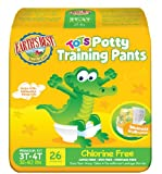 Earth's Best TenderCare Chlorine Free Tots Potty Training Pants Sizes 3T-4T (32-40 lbs)-26 count, Health Care Stuffs