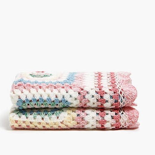 Ropa de cama Mantas y colchas Mantas Crochet Mantas Individuales de algodón Mantas de Aire Acondicionado: Amazon.es: Hogar