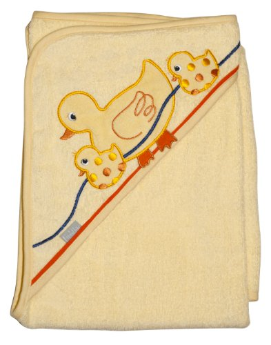 Frenchie Mini Couture Extra Large 40″x30″ Absorbent Hooded Towel, Ducks, Health Care Stuffs