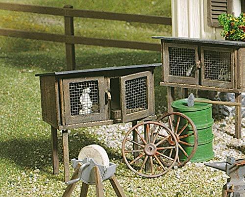 POLA 333209 Rabbit Stall G Scale Building Kit
