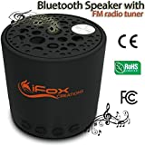 Bluetooth Speaker - Best Spec With 5 Functions; Wireless, TF Card, FM Radio Tuner, AUX & Speakerphone - Money-Back Guarantee - 2015 Model - Ultra Portable - Pairs with all Smartphones - Iphone, Tablet - Ipad, ipod, Android, MP3/4, Games, Car - Music & Fun Indoor & Outdoor - CE/ROHS/FCC Certified