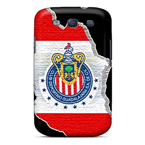 Scratch Resistant Cell-phone Hard Cover For Samsung Galaxy S3 With Custom Nice Chivas Logo Series Customcases88