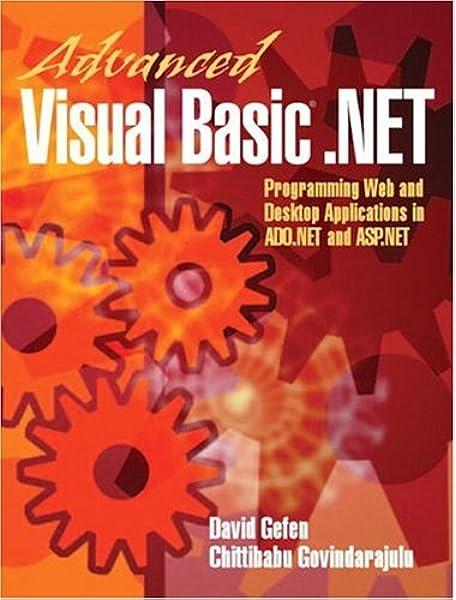Microsoft Visual Basic .net Programmer's Cookbook .pdf