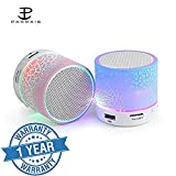 Padraig (Top Selling) Latest Wireless LED Bluetooth Speaker S10 Handfree with Calling Functions & FM Radio (Assorted Colour)