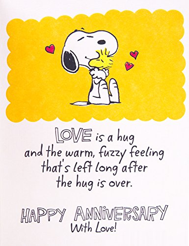 Hallmark Anniversary Greeting Card (Peanuts Vignette) Photo #6