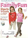 Disney Family Fun Magazine February 2012 Hearts & Crafts: Easy Valentines Kids Can Make