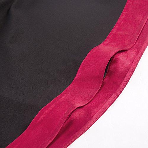 Chemisier Noir Haut Belle Gothique Mesdames 2 Longsleeve Bp510 Polyester Poque 6XqwH4nf