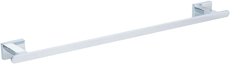 AmazonBasics EuroTowel Bar - Polished Chrome, 21-Inch