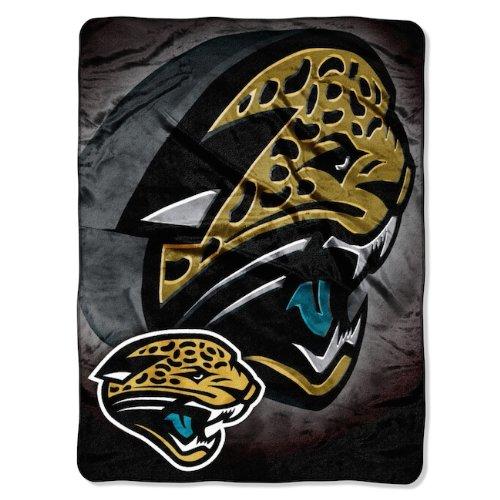 y NFL Jacksonville Jaguars Bevel Micro Raschel Throw, 60