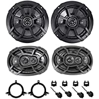1998-2004 Dodge Intrepid Kicker Front + Rear Factory Speaker Replacement Kit