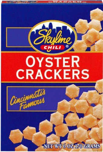 Skyline Chili, Cincinnati's Famous Oyster Crackers, 6 oz (3 boxes) by Skyline Chili
