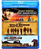 The Searchers / How the West Was Won / The Wild Bunch [Blu-ray] (Bilingual)