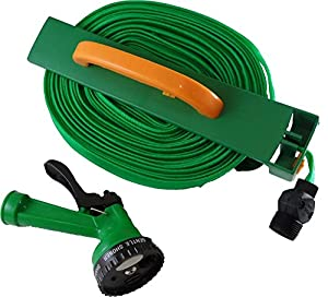 Amazing 50u0027 Light Weight  Roll Flat Garden Hose