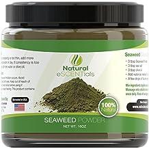 Seaweed Powder – 100% Organic Kelp Powder - Cellulite Treatment - Fresh Norwegian Ascophyllum Nodosum - FREE Recipes Included – Perfect For Body Wraps, Scrubs, Facials – 1LB