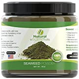 Seaweed Powder – 100% Organic Kelp Powder - Cellulite Treatment - Fresh Norwegian Ascophyllum Nodosum - FREE Recipes Included – Perfect For Body Wraps, Scrubs, Facials – 1LB