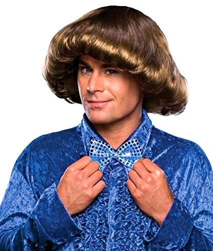 Rubie's 70's Prom King Wig, Brown, One Size ()