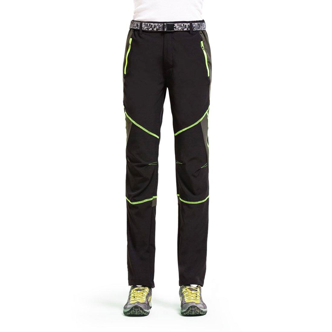 Freiesoldaten Uomo Abbigliamento Sportivo Leggero e Traspirante Pantaloni da Arrampicata Antivento Pantaloni da Trekking da Montagna