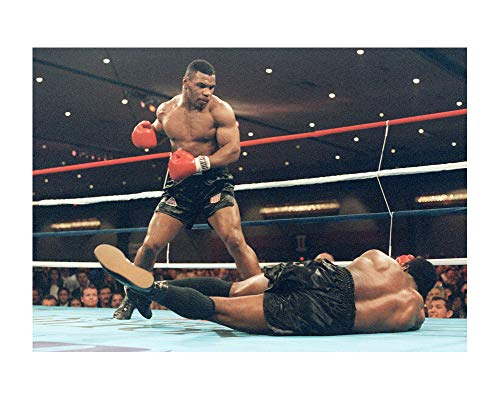 Mike Tyson Boxing King Wall Decor Art Print 24x36 Inches Photo Paper Material Custom -