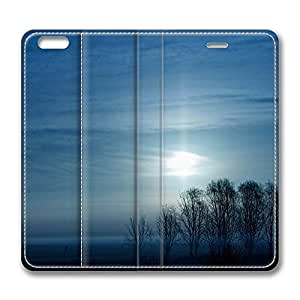 iPhone 6 Leather Case, Personalized Protective Flip Case Cover Endless Plains for New iPhone 6 by icecream design
