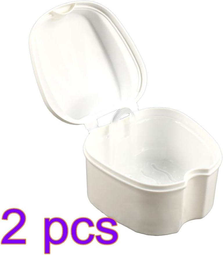 Healifty - Caja de baño para dentaduras postizas - Retención de ...