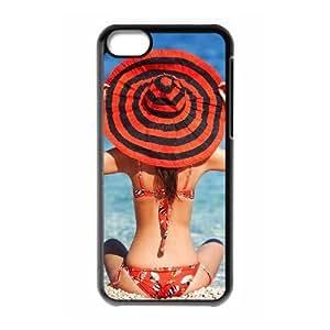 ALICASE Diy Hard Shell Case Bikini For Iphone 5C [Pattern-1]
