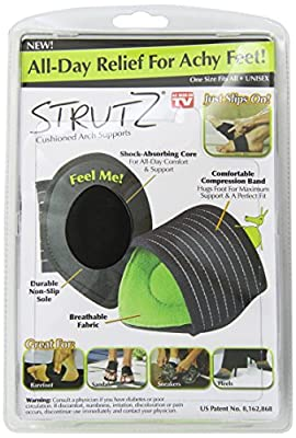 Strutz Cushioned Arch Supports, 2 Count