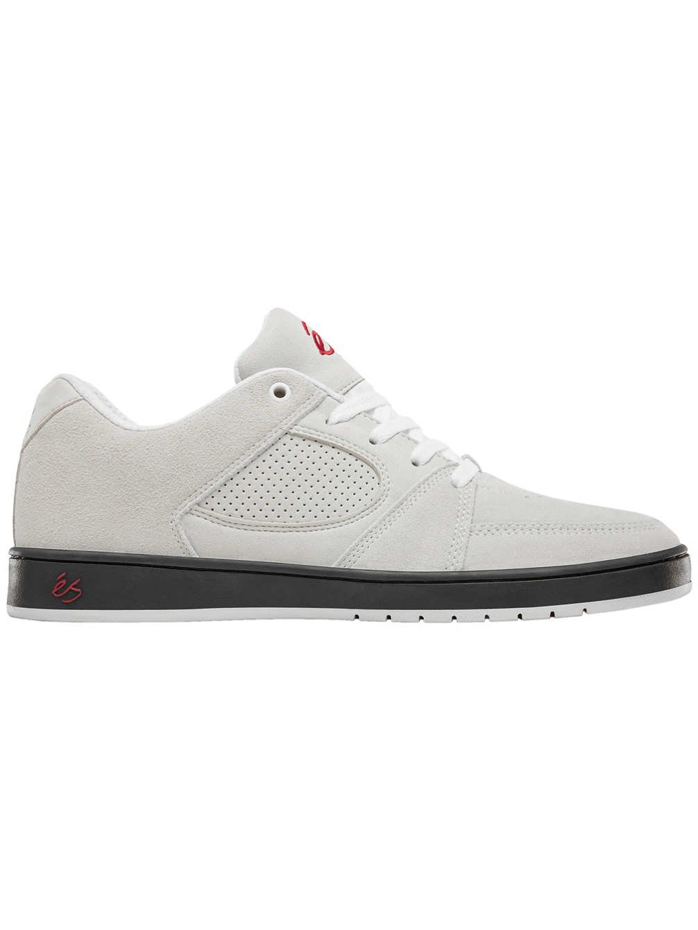 eS Men's Accel Slim Skate Shoe 12 D(M) US|White/Black