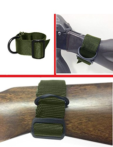 Ultimate Arms Slip On Stock Buttstock OD Green Loop Adapter Rifle Shotgun Attachment D-Ring For AR15 AR-15 AR-10 AR10 M4 M16 A2 A1 Armalite Dpms Stag Savage Arms Bushmaster