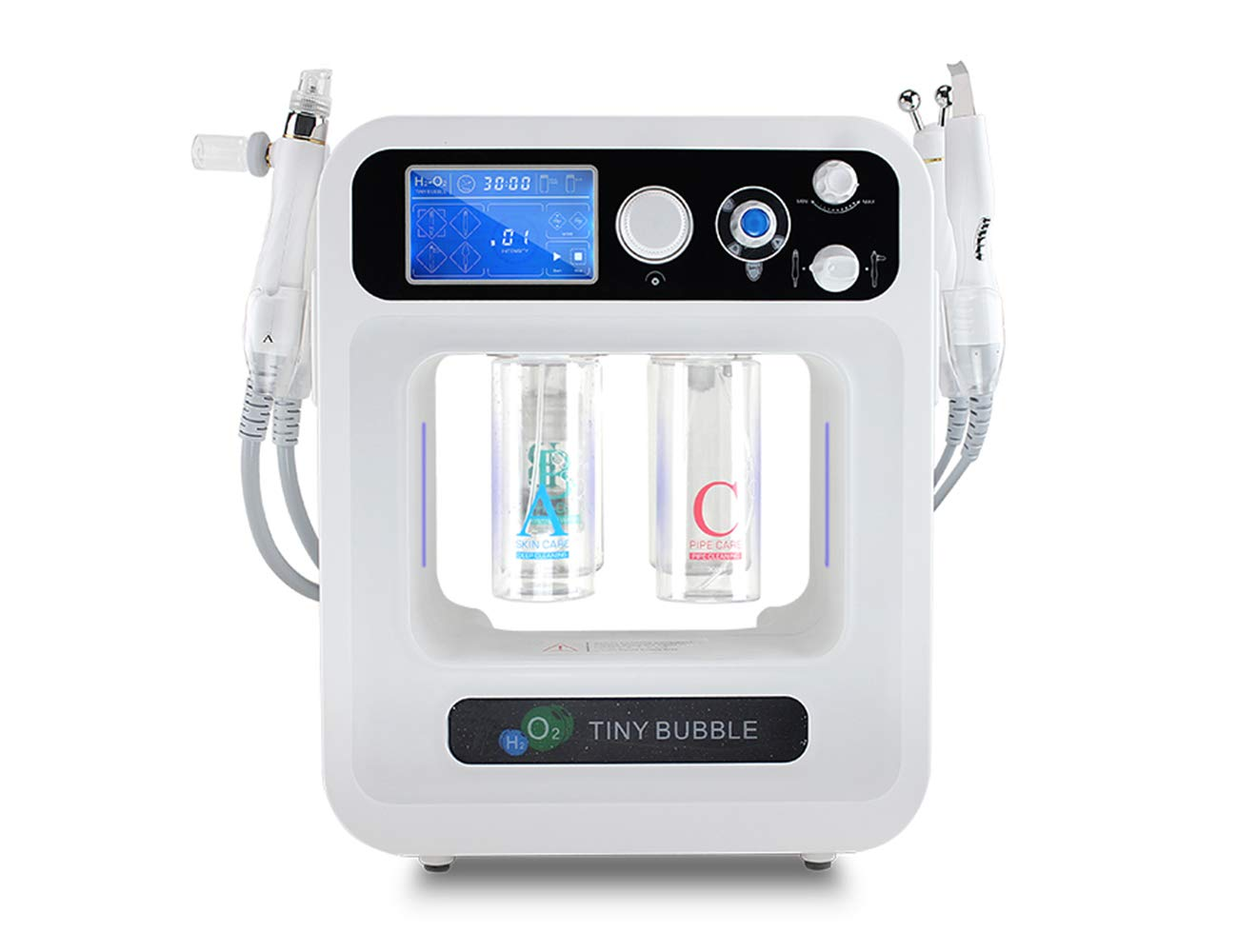 Skin Beauty Face Care 4 In 1 Aqua Water Peeling RF Hydrafacial Machine Elitzia ET89 by Elitzia