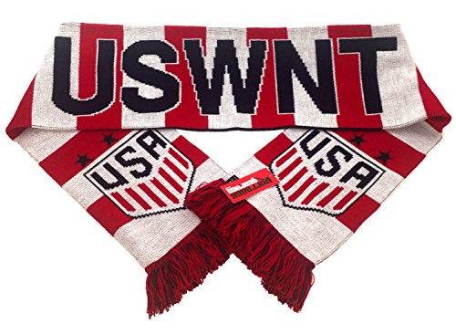Official US Soccer Scarf - USWNT 3 Stars