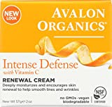 Best Avalon Vitamin C Creams - Avalon Organics Intense Defense Renewal Cream, 2 Ounce Review