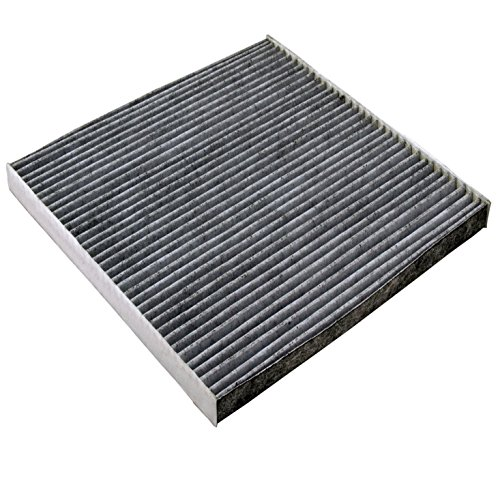 Carrep Cabonized Cabin Air Filter Engine Filter for 2003-2015 Honda CRV Civic Accord Odyssey Crosstour Ridgeline Acura
