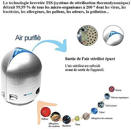 Airfree P125 - Purificador de Aire antivirrus, bacterias ...
