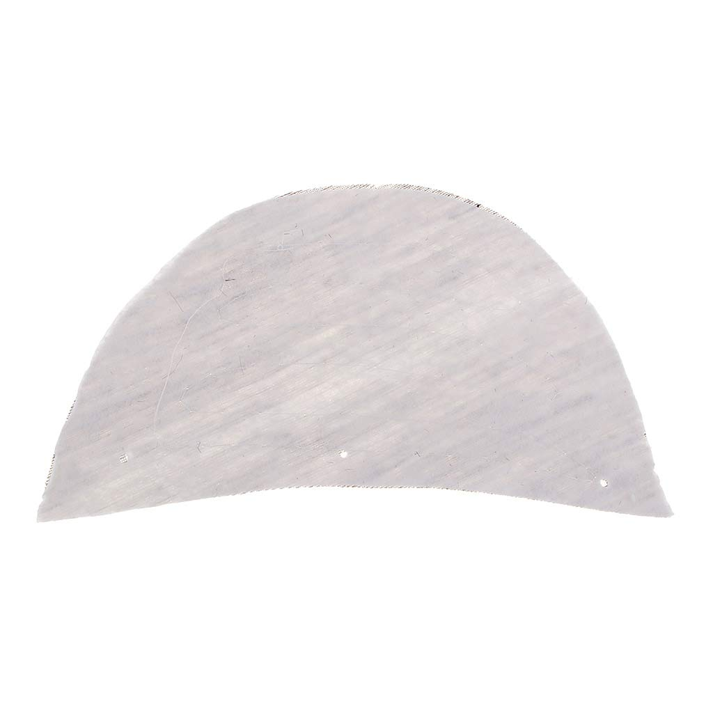 Lightweight and Durable CUTICATE 5 Pairs Soft Sew in Shoulder Pads for Suits Coat Thin