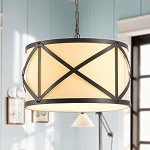 Simple Retro Iron Fabric Creative Decorative Chandelier